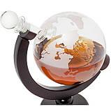 "Набор для виски ""Вокруг мира"" (Штоф 850 мл. + 2 стакана), фото 2"