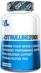 Амінокислота EVLution Nutrition Цитрулин L-CITRULLINE 2000 (90Vcaps)