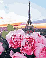 """Картина по номерам """"Романтика Парижа"""" 40*50см"""