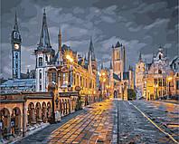 """Картина по номерам """"Вечер в Бельгии"""" 40*50см"""