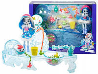 """Игровой набор Энчантималс """"Зимняя рыбалка с тюленем Саше"""" Enchantimals Mattel GJX48"""