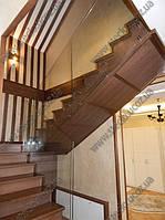 Стеклянные ограждения лестниц из безопасного стекла