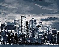 """Картина по номерам """"Свет ночного города"""" 40*50см"""