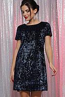 Жіноча сукня з паєтками