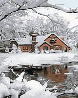 "Картина по номерам ""Уютная зима"" 40*50см"