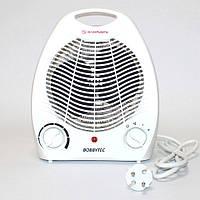 Тепловентилятор бытовой Bobbytec PFH-103 2000 Вт Электрический обогреватель дуйка для дома
