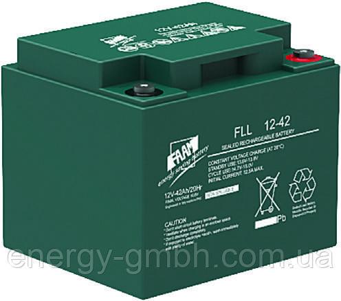 Аккумуляторная батарея FAAM серии FLL12-42