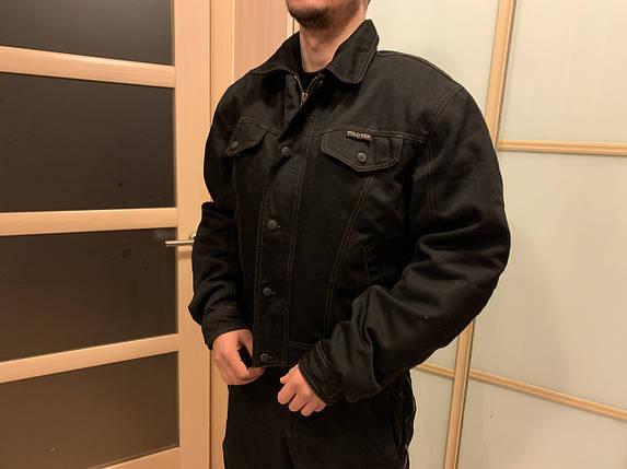 Защитная мото Куртка polo текстиль с защитой, фото 2
