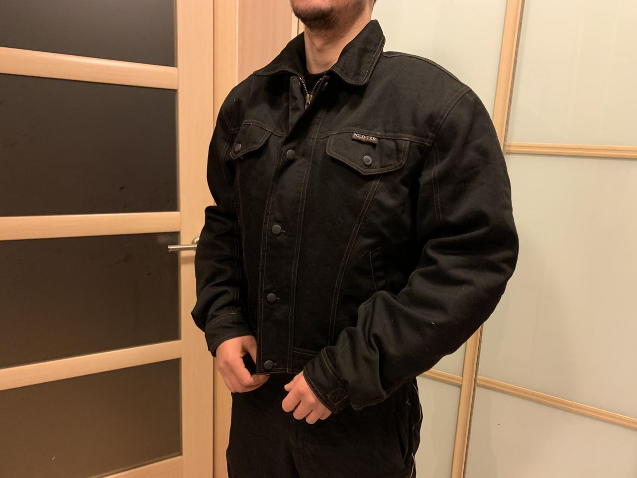 Защитная мото Куртка polo текстиль с защитой
