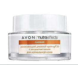 """Avon NutraEffects Увлажняющий дневной крем для лица """"Сияние"""" из SPF 20"""