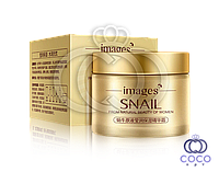 Крем для лица Images Snail Essence Moisturizing Cream с муцином улитки и гиалуроновой кислотой
