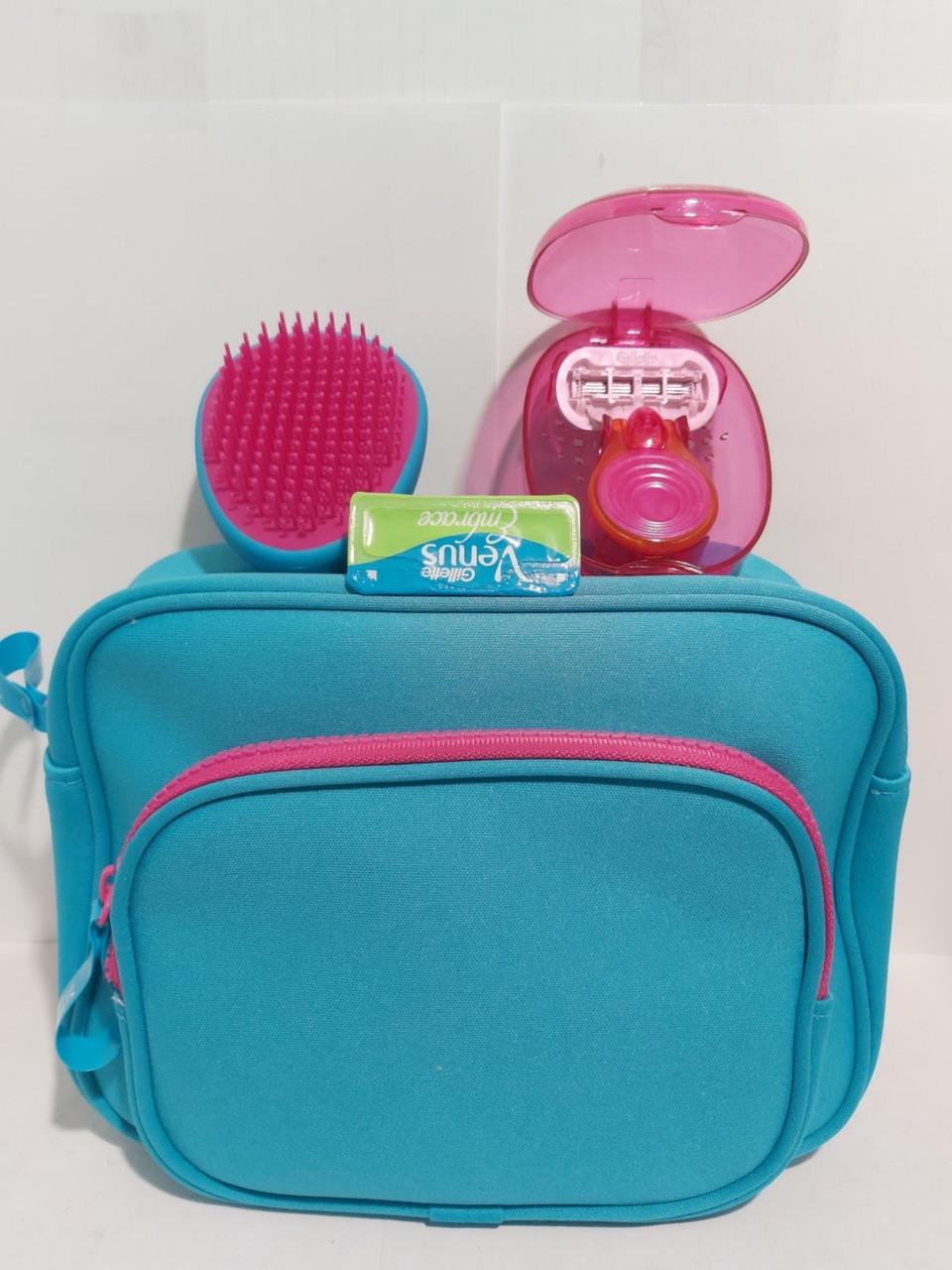 Набор Gillette Venus Snap Embrace,станок+ 2 картриджа+кейс+расческа+сумка