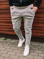 Мужские серые спортивные штаны. Мужская одежда