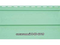"""Сайдинг облицовочный, панель D4D """"Slovinyl Siding"""", цвет салатовый RAL6019"""