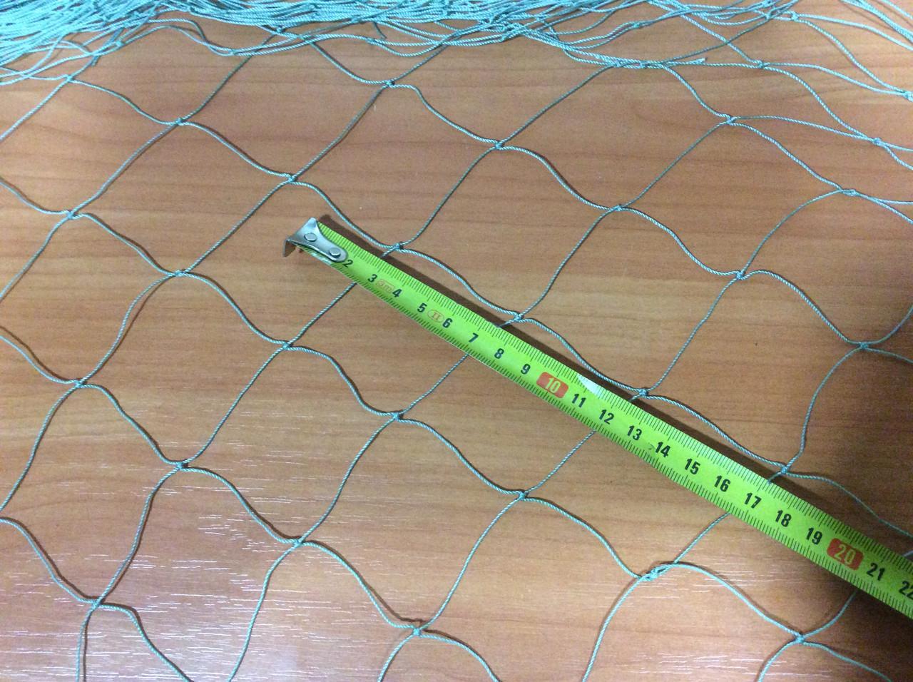 Сетка капроновая ячейка 50мм нитка 0,8мм ширина 20м