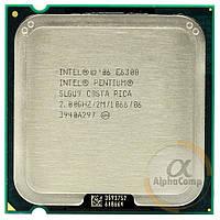 Процессор Intel Pentium Dual Core E6300 (2×2.80GHz/2Mb/s775) БУ