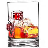Стаканы для виски Фортуна с игральными кубиками, фото 3