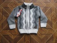 Детский свитер на молнии для мальчика  1-2 года Турция