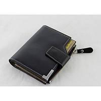 Мужской кошелек клатч портмоне Baellerry D1282 business Чёрный