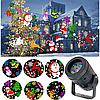 Лазерный проектор SE 328 (Новогодняя тематика)