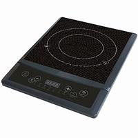 Індукційна плита Topmatic EIP-2000.4, 1 конфорка, 7 рівнів приготування, 2000 Вт