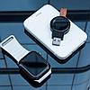 Зарядное устройство беспроводное Qi Baseus WXYDIW02-01 Dotter для Apple Watch, черное, фото 5