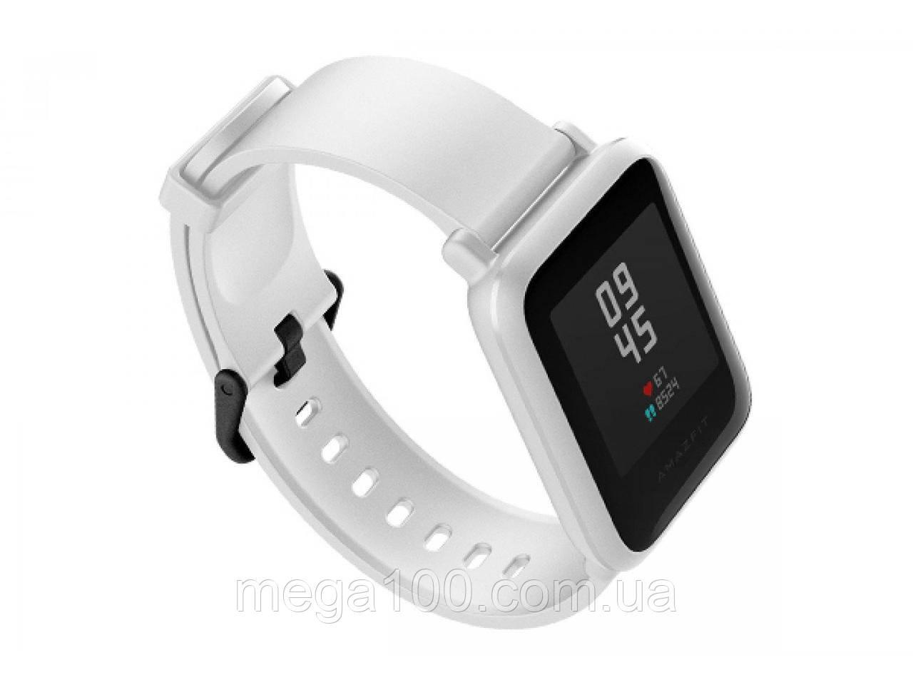 Смарт часы Xiaomi Amazfit Bip белый цвет