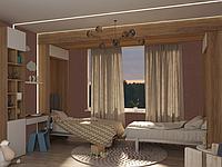 Шкаф-кровать трансформер на два отдельных спальных места