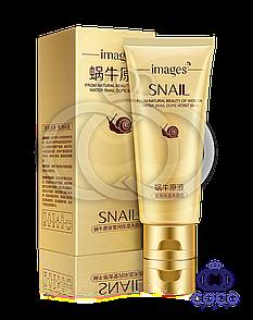 Пінка для вмивання Images Snail Cleanser з екстрактом равлики і гіалуронової кислотою