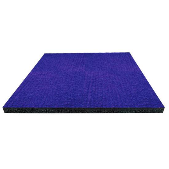 Килимова плитка на гумовій основі PuzzleGym 500x500x15 мм Синий