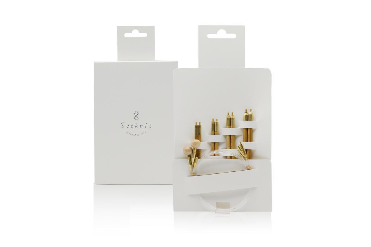 Мини-набор спиц KA Seeknit KOSHITSU Small set 10cm 4 / 3 / 0/ 2 М2