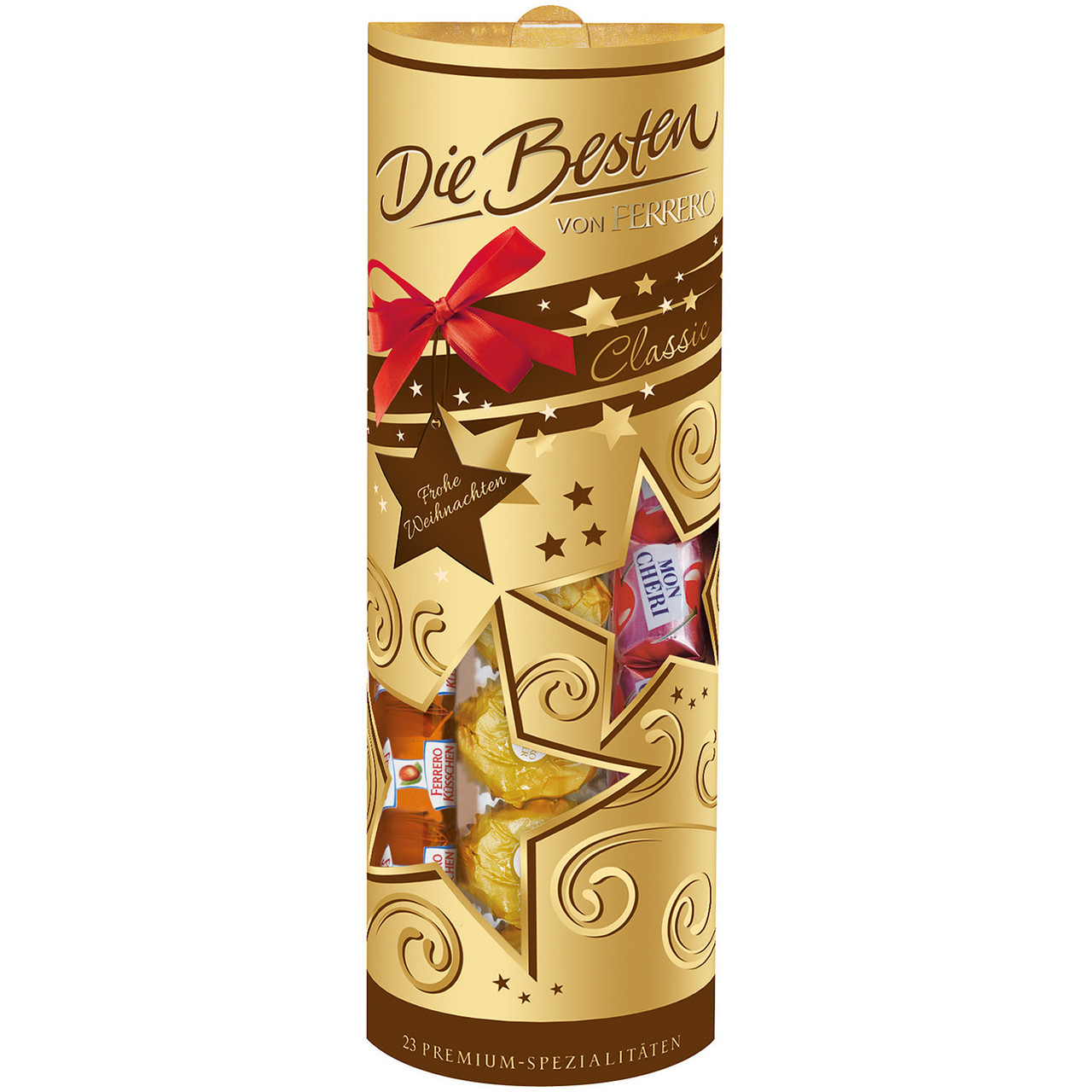 Ferrero Die Besten Тубус с конфетами 228g