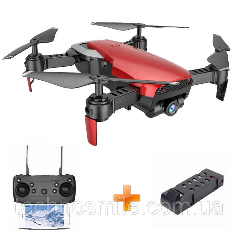Дрон S163 FPV з ширококутного камерою 720P літаючий квадрокоптер + додатковий акумулятор