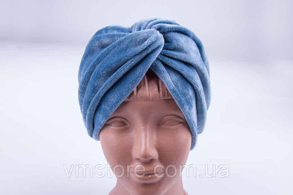 Пов'язка для волосся, велюрова м'яка пов'язка на голову