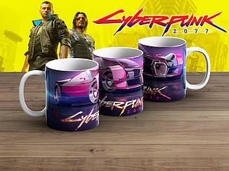 "Чашка Киберпанк 2077 ""Car""/ Cyberpunk 2077"