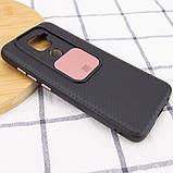 Чехол Camshield Black TPU со шторкой защищающей камеру для Xiaomi Redmi Note 9 / Redmi 10X, фото 4