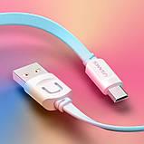 Дата кабель Usams US-SJ020 U-Trans Series USB to MicroUSB (1m), фото 3