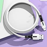 Дата кабель Usams US-SJ456 U51 Silicone USB to Lightning (2m), фото 5