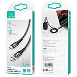 Дата кабель USAMS US-SJ466 U58 Type-C to Type-C 100W PD Fast Charge Magnetic Data Cable (1.5m), фото 6