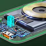 Портативное зарядное устройство Power bank Usams US-CD146 PB53 QC3.0+PD With Suction Cup 10000mAh, фото 4