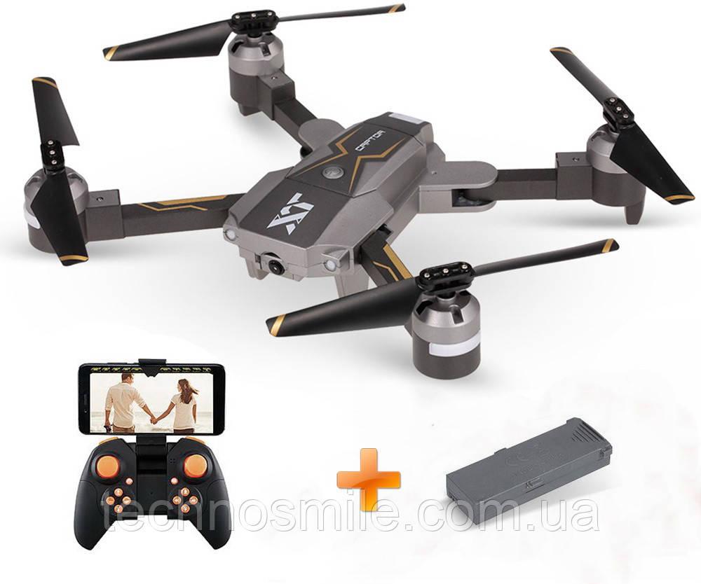 Квадрокоптер X-PACK 8 Wifi HD Wide 720p із опт. стабілізацією дрон з камерою