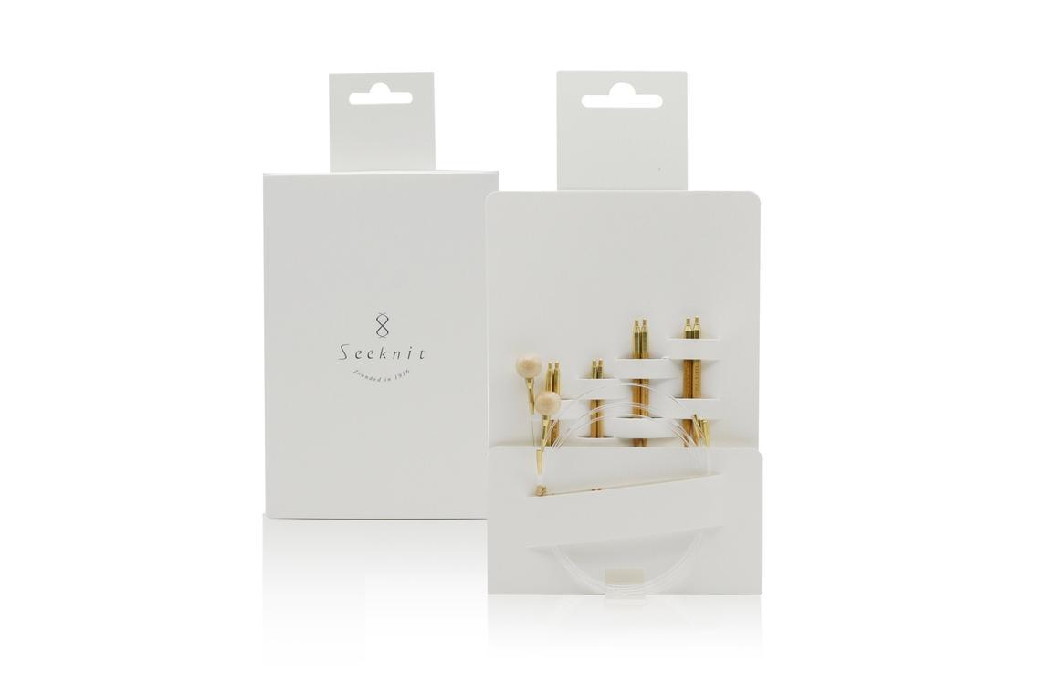 Мини-набор спиц KA Seeknit KOSHITSU Small set  5 cm 4 / 3 / 0/ 2 М 2