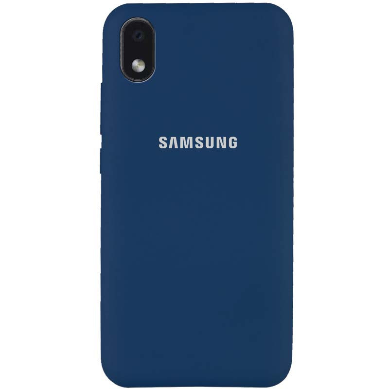 Чехол Silicone Cover Full Protective (AA) для Samsung Galaxy M01 Core / A01 Core