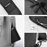 Сумка для ноутбука WIWU Odyssey Crossbody Bag, фото 2
