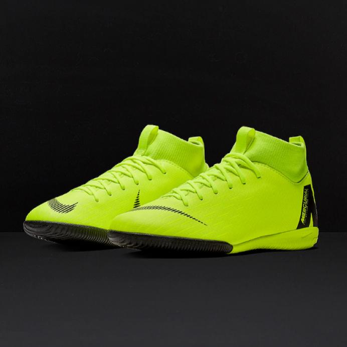 Детская футбольная обувь (футзалки) Nike JR SuperflyX 6 Academy GS IC