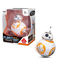 Интерактивный робот BB-8 на Дистанционном управлении Звездные Воины 20 см + Подарочная упаковка