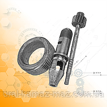 Шестерні приводу спідометра ведена і ведуча з корпусом ЗІЛ-130 130-3802033/34/88