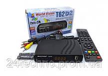 Приставка Т2 тюнер ресивер приемник World Vision T62D2 YouTube IPTV, фото 3