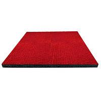 Килимова плитка на гумовій основі PuzzleGym 500x500x20 мм