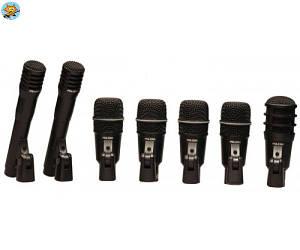 Комплект микрофонов для барабанов Superlux DRKA5C2